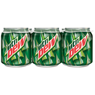 Mountain Dew® 6 Pack 8 fl. oz. Cans
