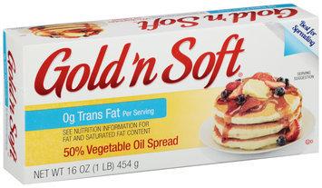 Gold 'n Soft® 50% Vegetable Oil Spread 16 oz. Box