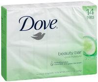 Dove  Cool Moisture Cucumber & Green Tea Beauty Bar 14 Ct Pack