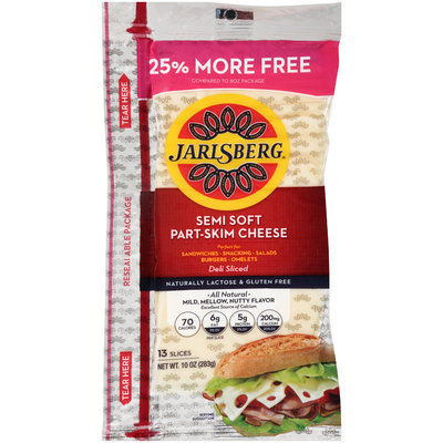 Jarlsberg® Semi Soft Part-Skim Cheese 10 oz. Pack