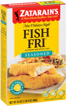 Zatarain's® Fish-Fri® Seasoned Seafood Breading Mix 24 oz. Box