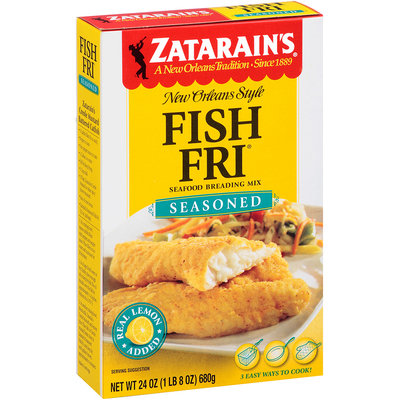 Zatarain's® Fish-Fri® Seasoned Seafood Breading Mix 24 oz. Box