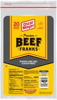 Oscar Mayer Premium Beef Franks 20 ct Pack