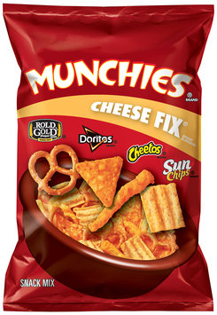 Munchies Cheese Fix Brand Flavored Snack Mix