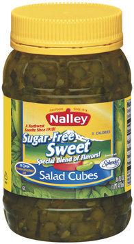 Nalley Sweet Sugar Free Salad Cubes 16 Fl Oz Jar