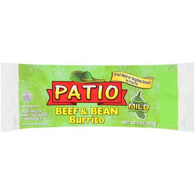 Patio® Mild Beef & Bean Burrito 5 oz. Wrapper