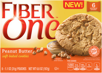 Fiber One­ Peanut Butter Soft-Baked Cookies