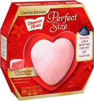 Duncan Hines® Perfect Size Strawberry Lemon Kiss Cake & Glaze Mix 8.4 oz. Box
