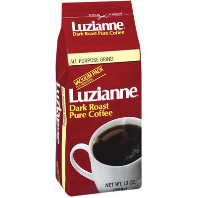 Luzianne Dark Roast Pure Ground Coffee 13 Oz Vac Bag