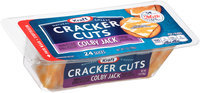 Kraft Colby Jack Cheese Cracker Cuts 24 ct Tray