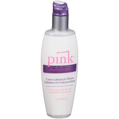 Pink® Indulgence Hybrid Water-Based Creme Lubricant for Women 6.7 oz. Pump