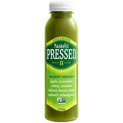 Naked Pressed™ Bright Greens™ Juice 12 fl. oz Bottle