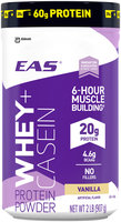 EAS® Whey + Casein Vanilla Protein Powder 2 lb. Canister