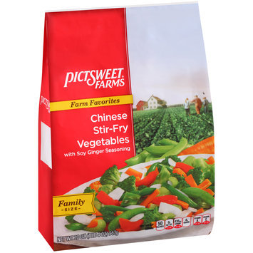 Pictsweet Farms® Farm Favorites Chinese Stir-Fry Vegetables with Soy Ginger Seasoning 20 oz. Stand Up Bag