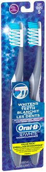 Whitening Oral-B 3D White Radiant Whitening Toothbrush, 2 ct. SOFT