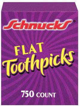 Schnucks Flat Toothpicks 750 Ct Box