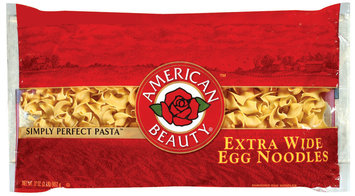 American Beauty Extra Wide Egg Noodles 32 Oz Bag