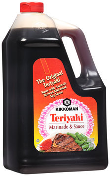 Kikkoman® Teriyaki Marinade & Sauce 1 gal. Jug