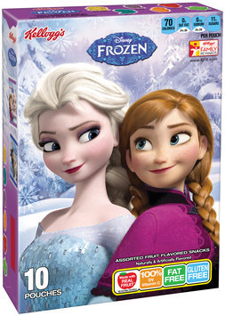 Kellogg's® Disney Frozen Fruit Flavored Snacks 10 ct Box