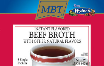 WYLER'S Instant 8 Ct Packets Beef Broth 1.5 OZ BOX