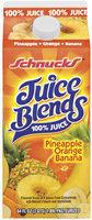 Schnucks Pineapple Orange Banana Juice Blends