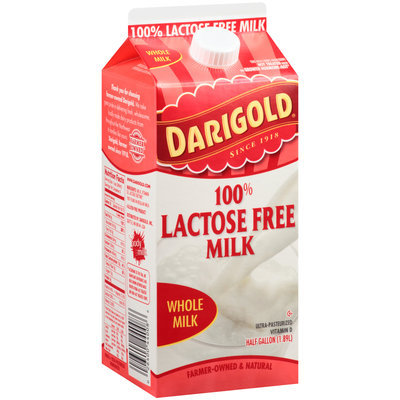 Darigold® 100% Lactose Free Whole Milk .5 Gal. Carton