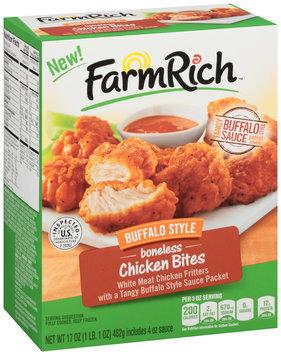 Farm Rich™ Buffalo Style Boneless Chicken Bites 17 oz. Box