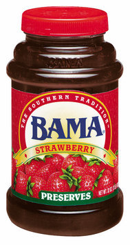 Bama Spreads Strawberry, Modified
