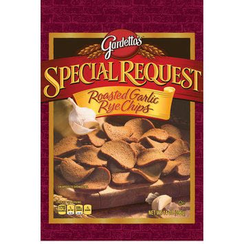 Gardetto's® Special Request Roasted Garlic Rye Chips 14 oz. Bag