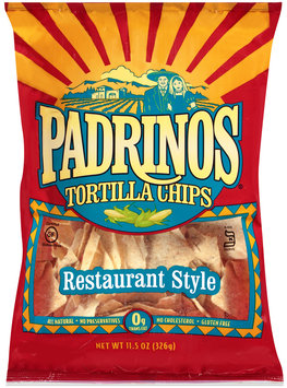 Padrinos® Restaurant Style Tortilla Chips 11.5 oz. Bag