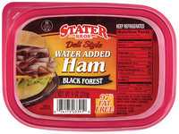Stater Bros. Black Forest Deli Style 97% Fat Free Ham 9 Oz Tub