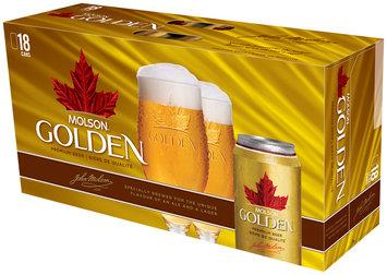 Molson Golden 12 Oz Beer 18 Pk Cans