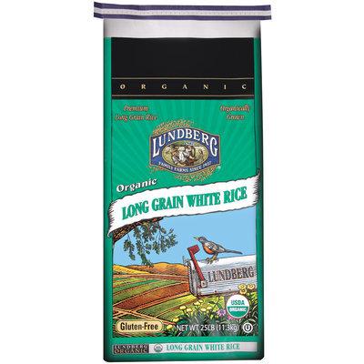 Lundberg Family Farms Og Long Grain White Rice Organic 25lb. Rice 25 Lb Bag