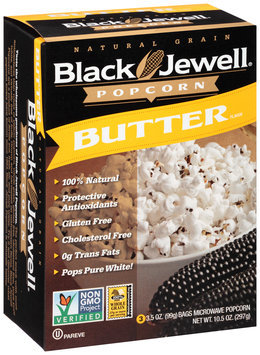 Black Jewell® Butter Flavor Microwave Popcorn 3-3.5 oz. Bags