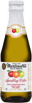 Martinelli's Gold Medal Sparkling Cider 8.4 fl. oz. Glass Bottle