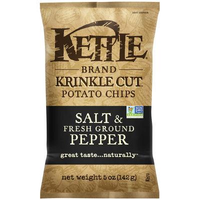 Kettle Brand® Krinkle Cut™ Salt & Fresh Ground Pepper Potato Chips