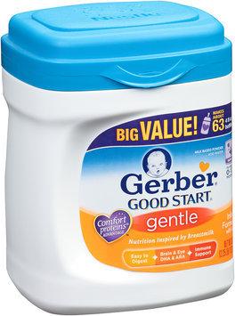 Gerber® Good Start® Gentle Milk Based Powder Infant Formula with Iron 36 oz. Plastic Tub