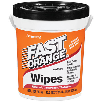 Fast Orange® Heavy Duty Wipes 72 ct.