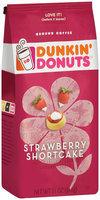Dunkin' Donuts® Strawberry Shrotcake Ground Coffee 11 oz