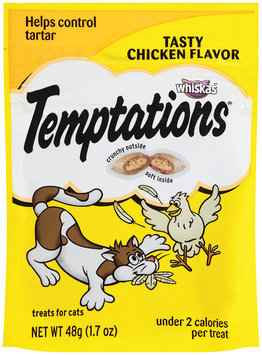 Whiskas® Temptations® Tasty Chicken Flavor Treats for Cats 1.7 oz