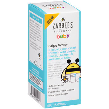 Zarbee's® Naturals Baby Gripe Water Dietary Supplement 4 fl. oz. Box