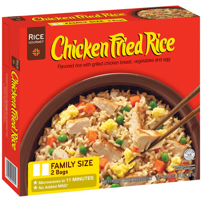 Rice Gourmet W/Grilled Chicken Vegetables & Egg Chicken Fried Rice 48 Oz Box