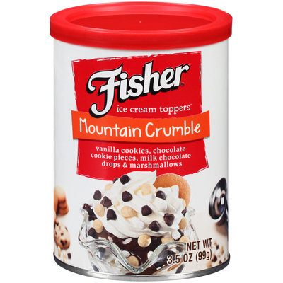 Fisher® Mountain Crumble Ice Cream Toppers® 3.5 oz. Can