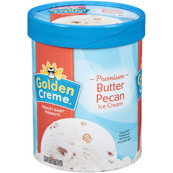 Golden Creme® Premium Butter Pecan Ice Cream 1.75 qt. Tub