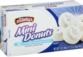 Mrs. Freshley's® Powdered Sugar Mini Donuts 4-4 ct Packs