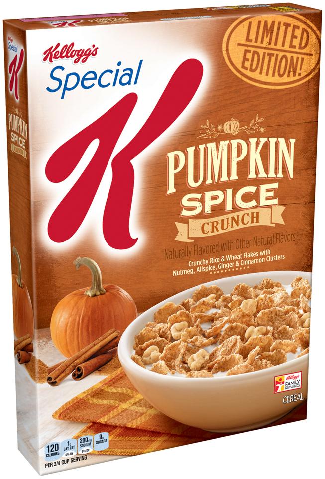 Special K® Kellogg's Pumpkin Spice Crunch Cereal