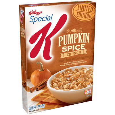 Kellogg's® Special K® Pumpkin Spice Crunch Cereal 12.4 oz. Box