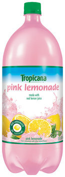 Tropicana® Pink Lemonade Flavored Juice Drink 2L Plastic Bottle