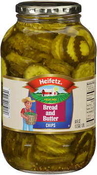 Heifetz® Bread and Butter Pickle Chips 64 fl oz. Jar