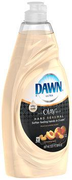 Dawn Hand Renewal Peach & Almond Dishwashing Liquid